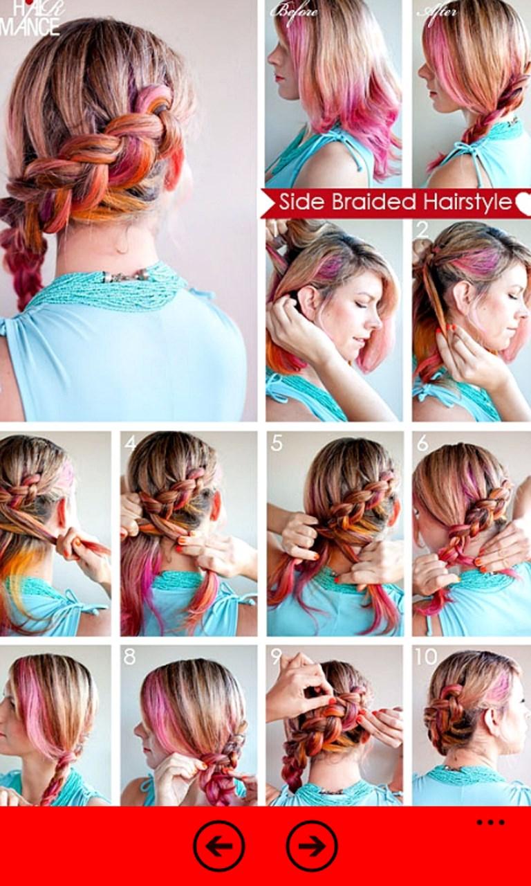 Как сделать прически на средние волосы поэтапно
