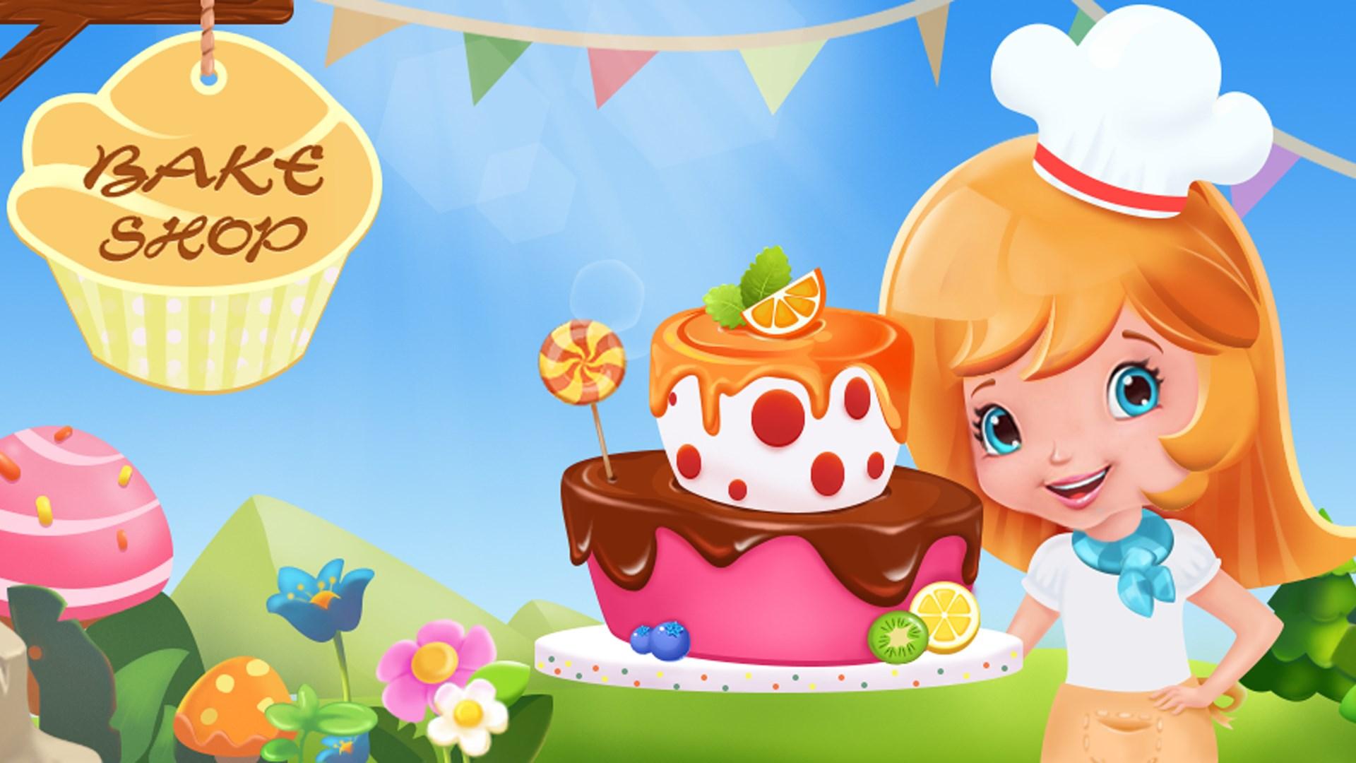 使用各种精美可爱的装饰品装饰蛋糕.  6.