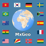 World Atlas & Quiz MxGeo Pro