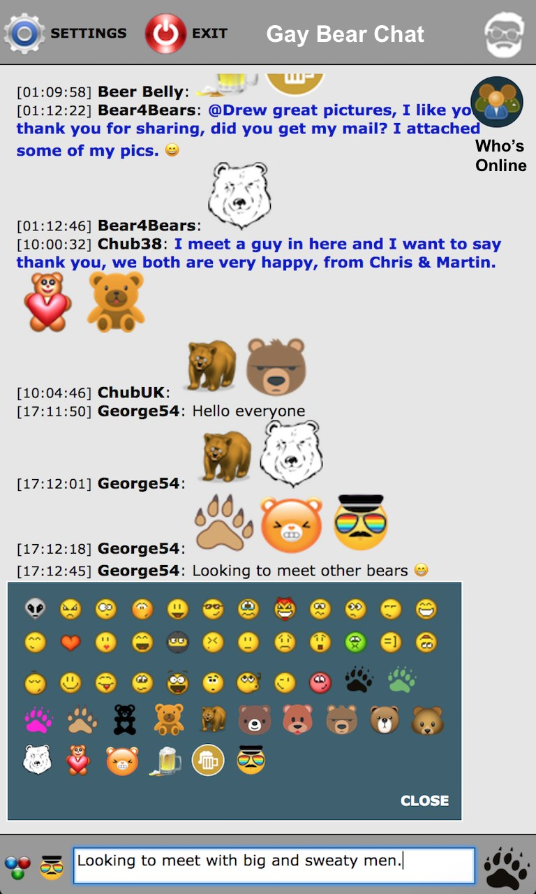 Gay bear chat