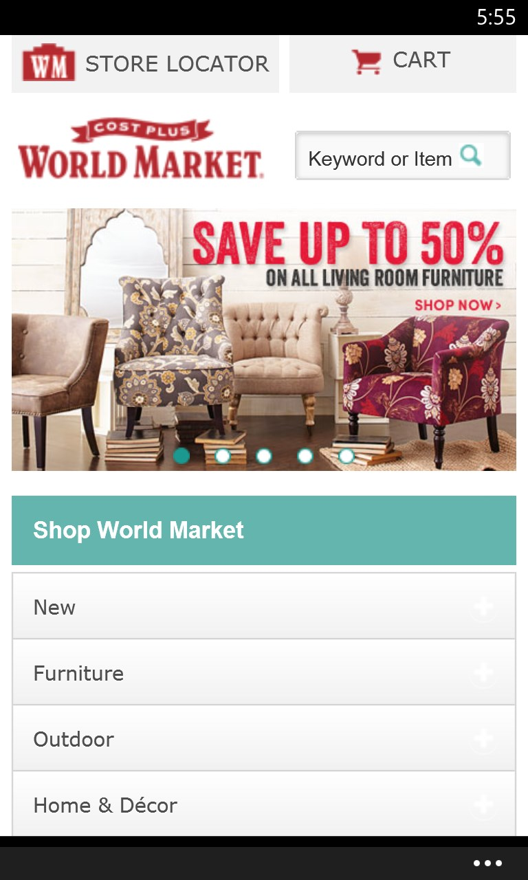 Cost Plus World Market. 1,, likes · 17, talking about this · , were here. Find unique, authentic and affordable items for home décor, home.