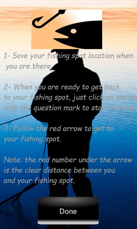 Fishing spot free windows phone app market for Fishing spot app