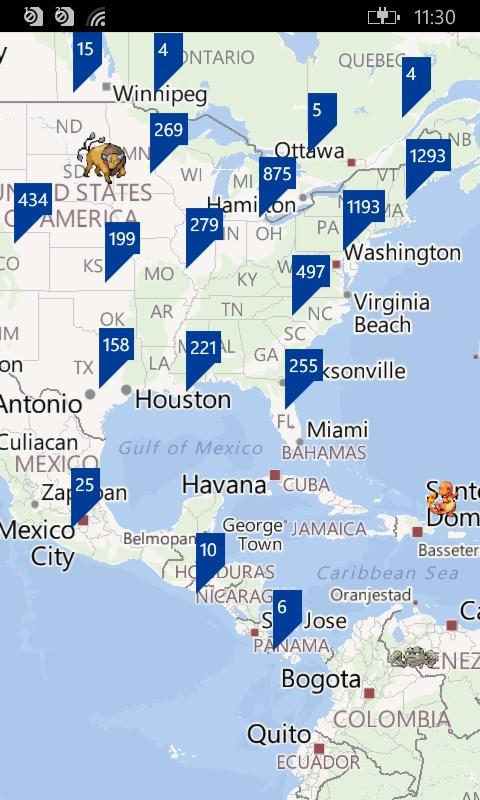 Map for Pokemon Go   FREE Windows Phone app market