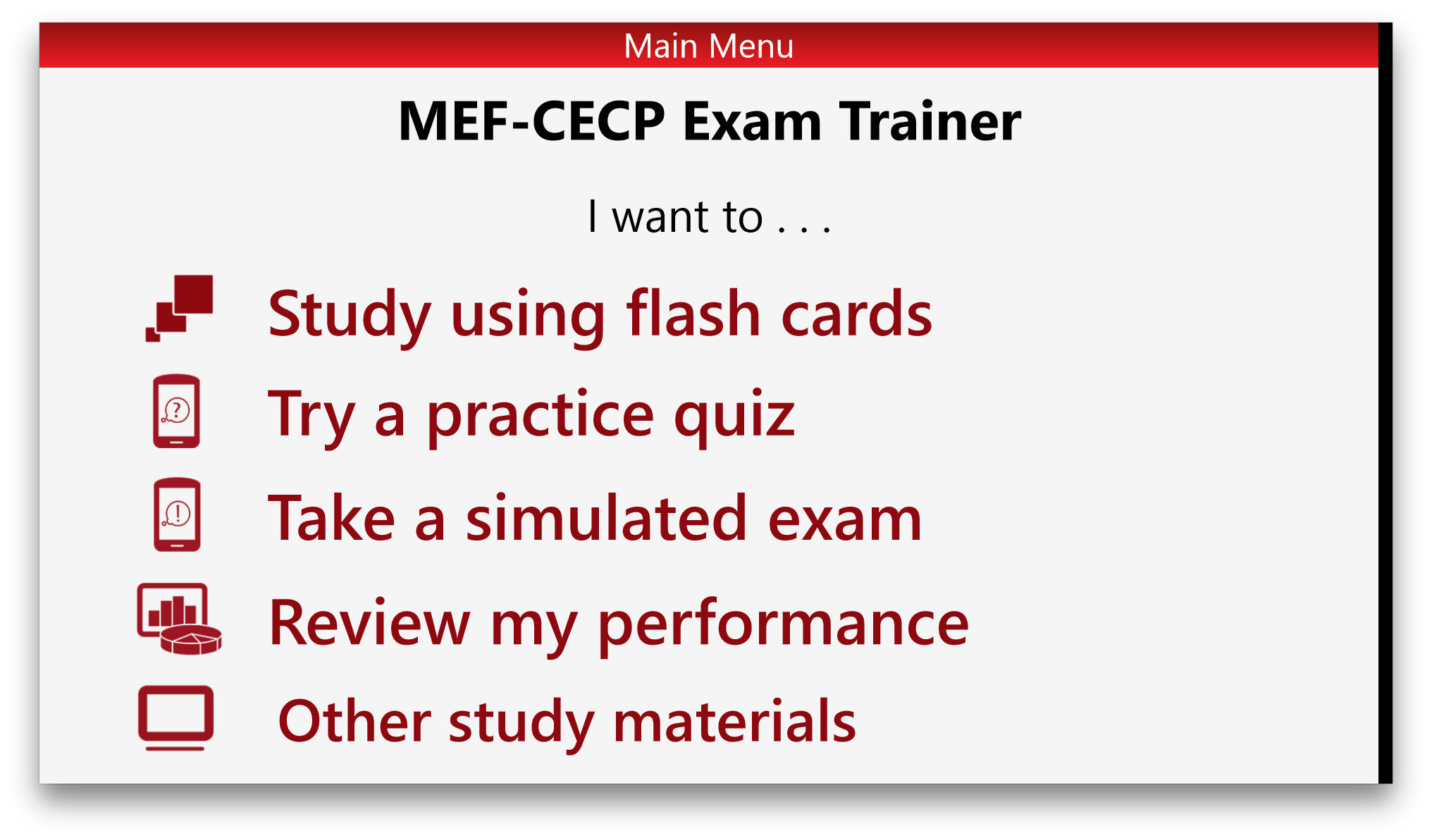 Mef cecp exam trainer blueprint c free windows phone app market prev malvernweather Choice Image