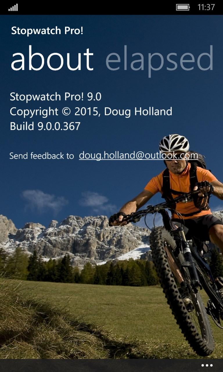 Stopwatch Pro!