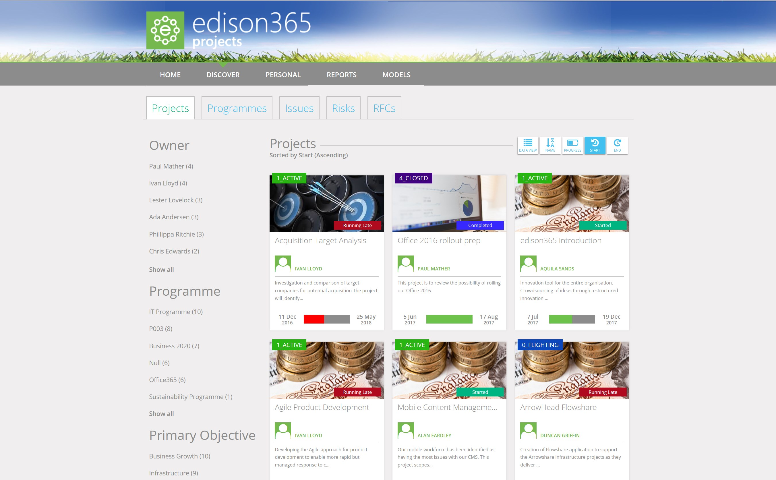edison365projects By Corporate Project Solutions Web apps The