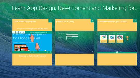learn how to design applications