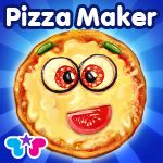 Pizza Crazy Chef - Make, Eat and Deliver Pizzas with Over 100 Toppings- Play The Maker Game To Bake, Decorate & Cook Food!