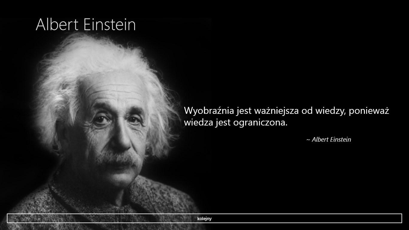 Albert Einstein Cytaty Free Windows Phone App Market