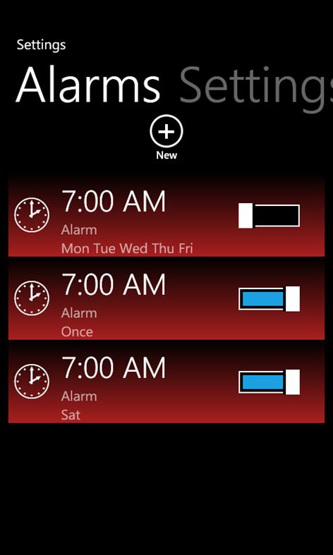 get free talking alarm clock microsoft store. Black Bedroom Furniture Sets. Home Design Ideas