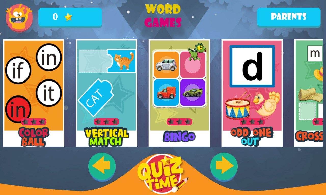 Kids Learning Word Games