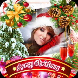 app icon merry christmas photo frames