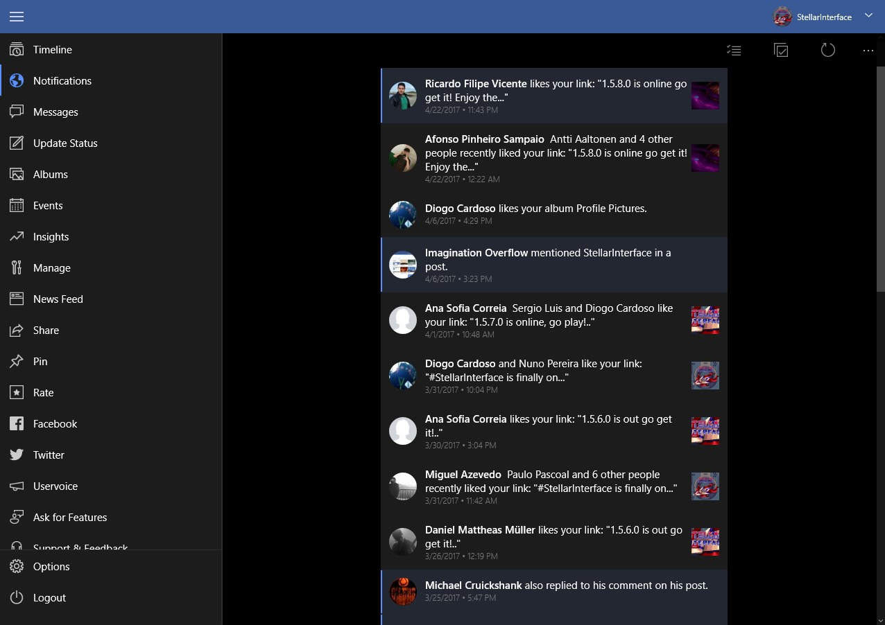 Pages Manager for Facebook