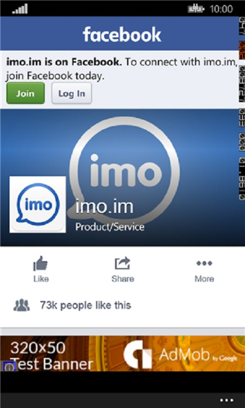 Download the latest version of imo free video calls and