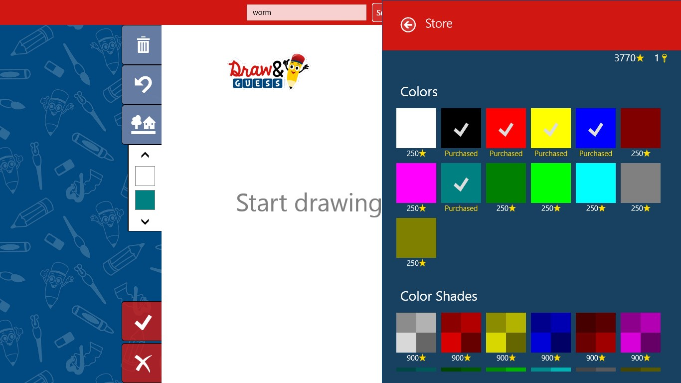 Draw Guess For Windows 10