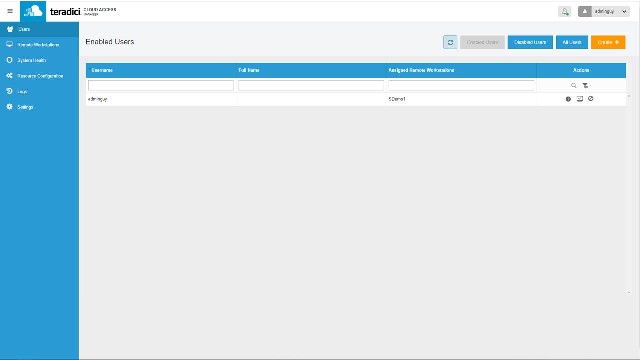 Teradici Cloud Access Software (Linux)