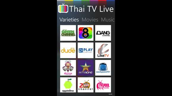 Thai TV Live for Windows 10 free download   TopWinData.com
