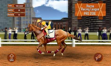 Get Horse Racing League Pro 2016 Riding Simulator