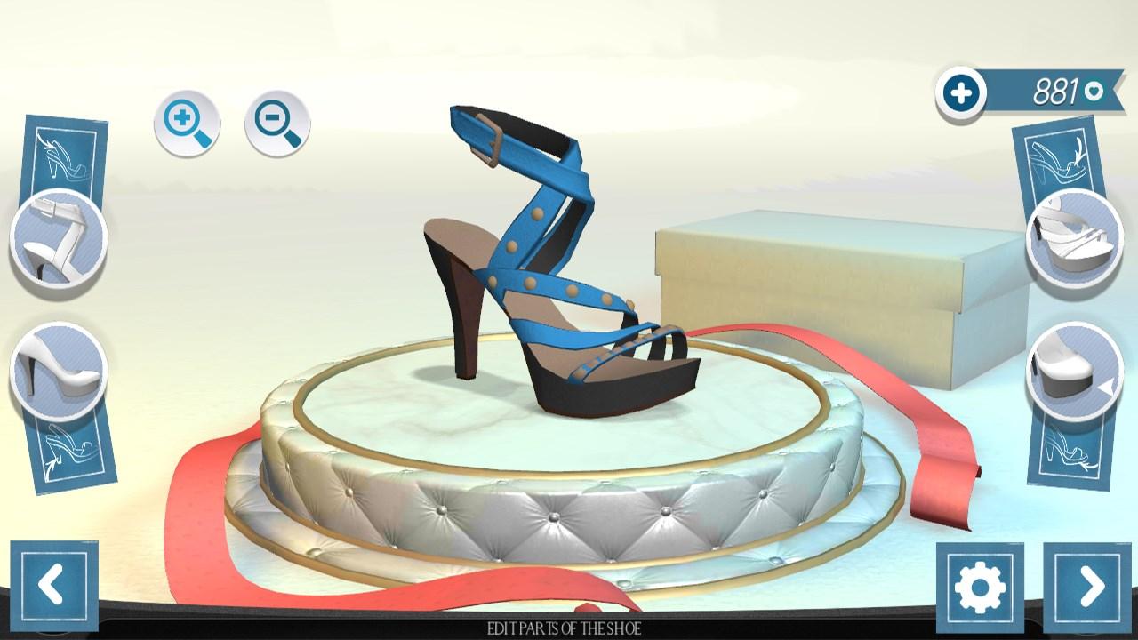 Shoe designer fashion games 3d free windows phone app market for House design games online 3d free
