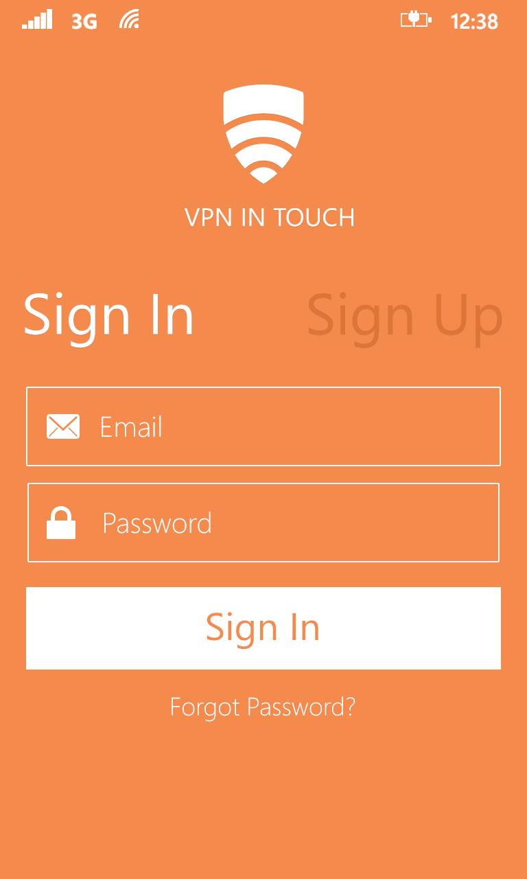 Mobile virtual private network