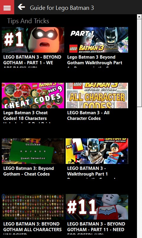Lego Batman 3 Beyond Gotham Codes