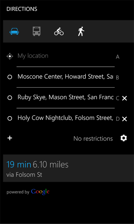 Get Gmaps Microsoft Store