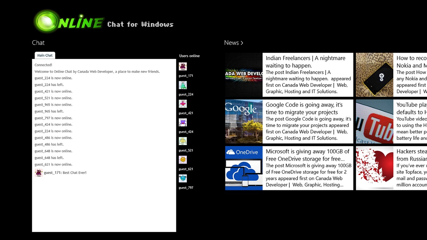 Online chat for windows free windows phone app market for House windows online