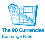 The 90 Currencies Exchange Rate