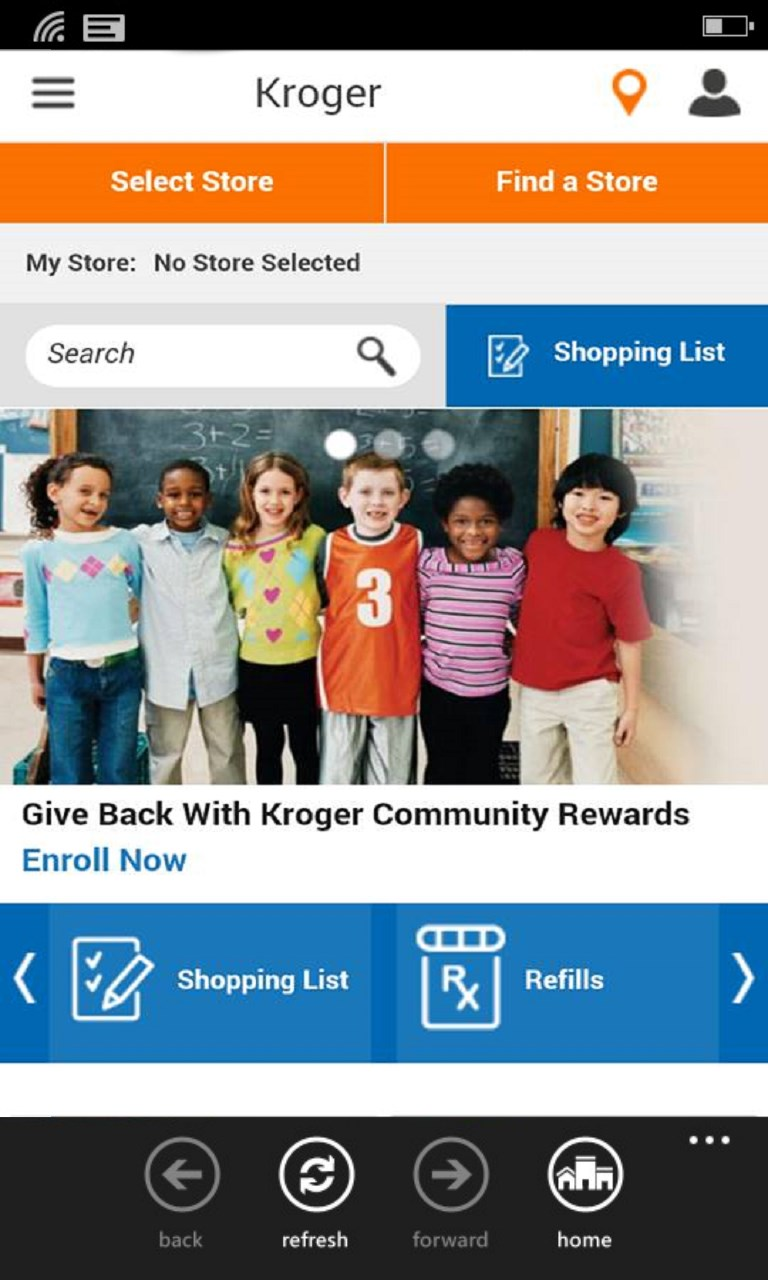 Kroger online shopping free windows phone app market for Apps similar to poshmark