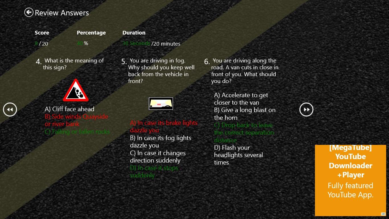 Driving Exam
