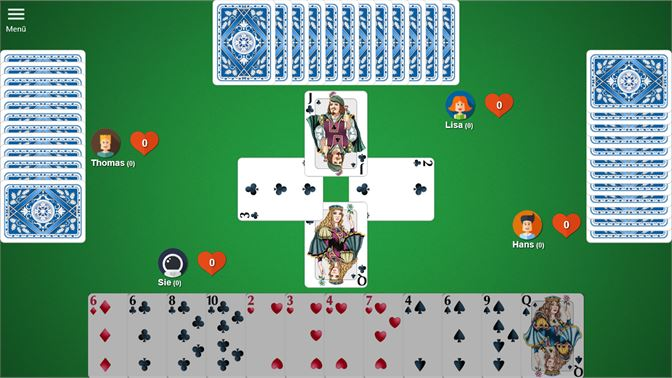 Hearts spielen online