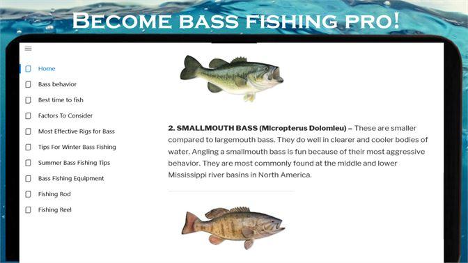 Získať Bass fishing Full Course! Become bass fishing Pro