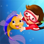 Little Pet Fish Dressup and Spa Makeover Salon