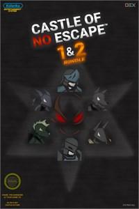 Carátula para el juego Castle of no Escape 1+2 Bundle de Xbox 360