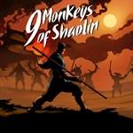 9 Monkeys of Shaolin Logo