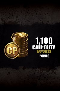 1,100 Call of Duty®: WWII Points