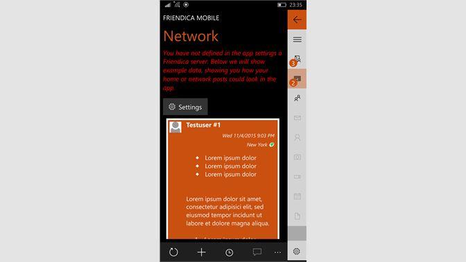 Get Friendica Mobile - Microsoft Store