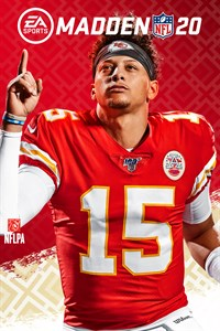Carátula del juego Madden NFL 20