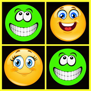 Smiley In A Row