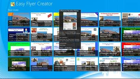 Easy Flyer Creator Windows Apps on Microsoft Store – Advertisement Flyer Maker