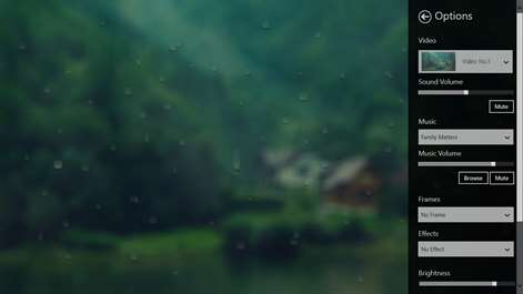 Blurry rain Screenshots 1