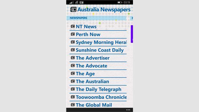 Get Australian Newspapers - Microsoft Store