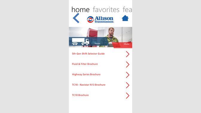 Get Allison Transmission Mobile - Microsoft Store