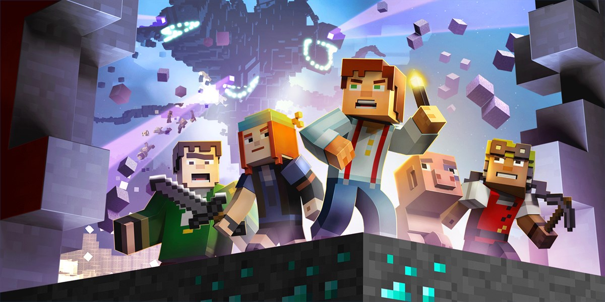Get Minecraft Story Mode A Telltale Games Series Microsoft Store - Lego minecraft spiele deutsch