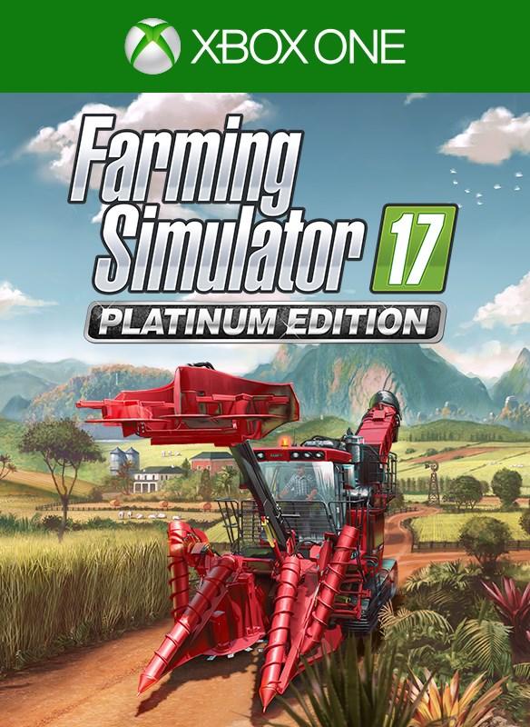 Farming Simulator 17 - Platinum Edition boxshot