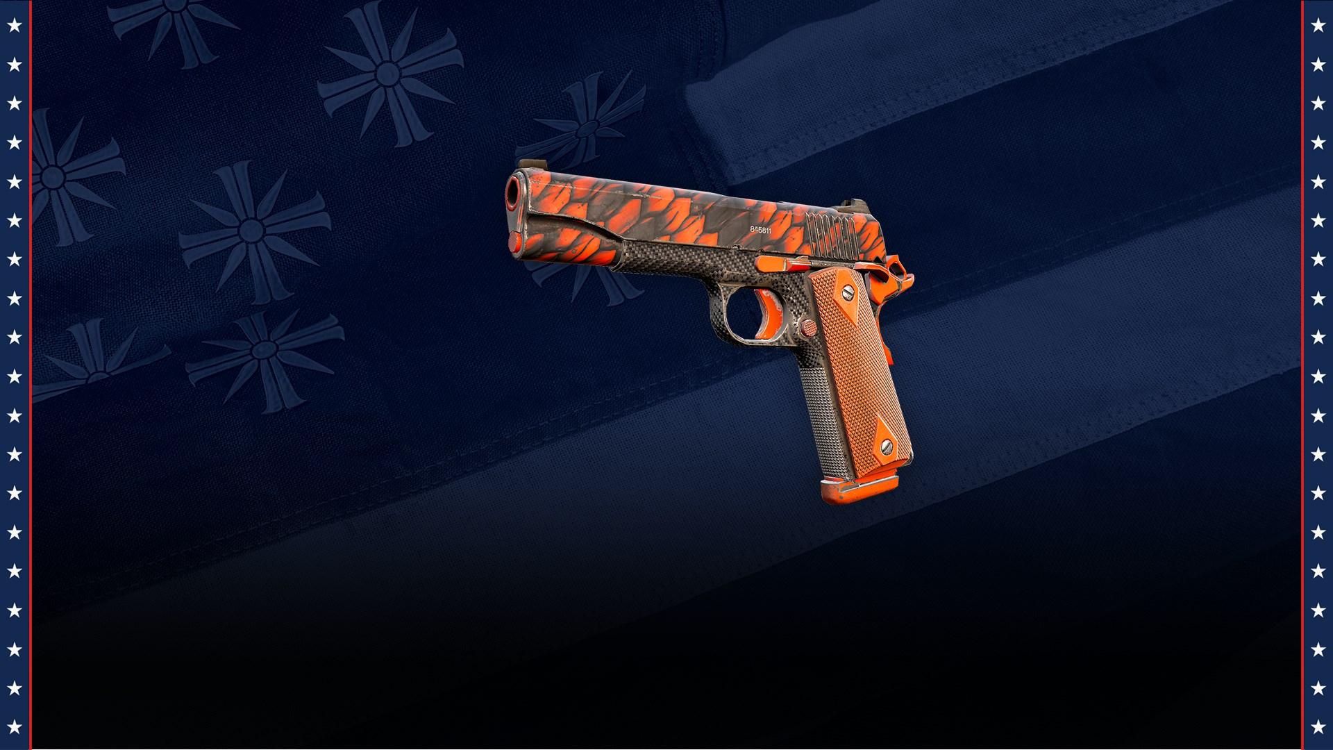 1911 Handgun with Prepper Skin
