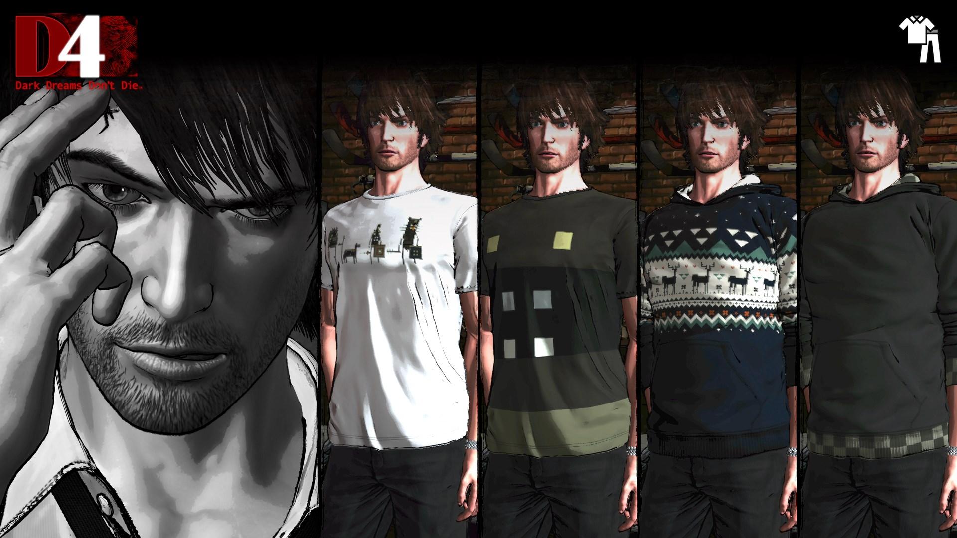 D4: Dark Dreams Don't Die - Superbrothers:Sword & Sworcery EP Clothing Set