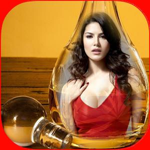Photo in Bottle Glass Frames