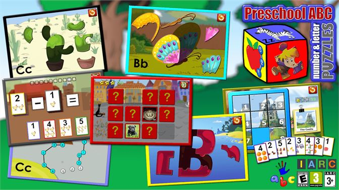 Get Preschool ABC Number And Letter Puzzle Games