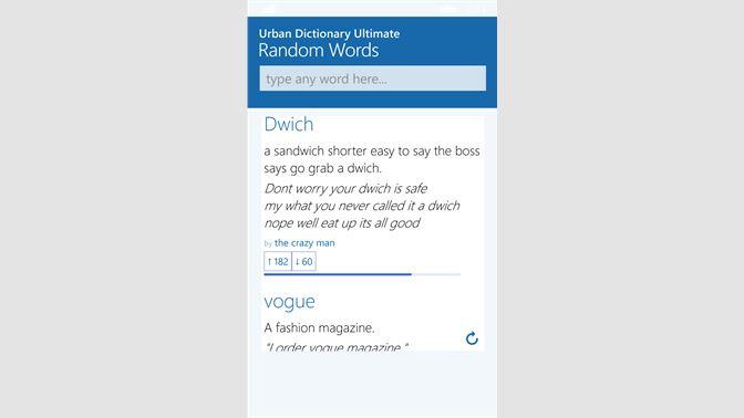 Get Urban Dictionary Ultimate